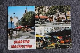 PARIS - Quartier MOUFFETARD, Le Marché - Arrondissement: 05