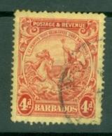 Barbados: 1925/35   Seal Of Colony    SG235    4d   Used - Barbados (...-1966)