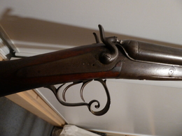 Fusil De Chasse XIXéme Pour La Décoration - Decotatieve Wapens