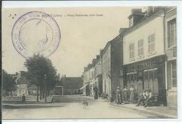 Baugy-Place Nationale,coté Ouest - Baugy