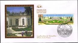 FRANCE 3389 FDC Premier Jour Jardins De Versailles Hommage Au Jardinier Le Nôtre Garden Giardino - FDC