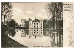 Environs De Bruxelles - Château De Bouchout - 1905 - Edit. Nels 11/207 -  2 Scans - Meise