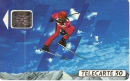 TELECARTE 50 - ALBERTVILLE 92 - TIRAGE 4 000 000 EX 04/91 - Jeux Olympiques