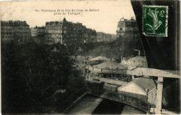 CPA PARIS 14e Panorama De La Fete Du Lion De Belfort (676495) - Arrondissement: 14