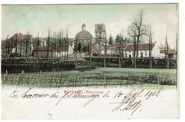 Montaigu - Panorama - 1902 -  2 Scans - Scherpenheuvel-Zichem
