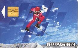 TELECARTE 120 - ALBERTVILLE 92 - TIRAGE 4 000 000 EX 04/91 - Jeux Olympiques