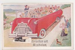 Mechelen: Groeten Uit...(carte à Système) - Malines