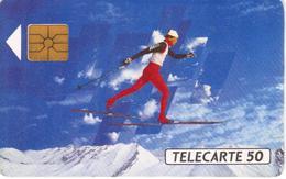 TELECARTE 50 - ALBERTVILLE 92 - TIRAGE 4 000 000 EX 11/91 - Jeux Olympiques