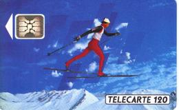 TELECARTE 120 - ALBERTVILLE 92 - TIRAGE 4 000 000 EX 11/91 - Jeux Olympiques