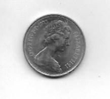 Piece  10 Pence Elizabeth II  1973 - Grande-Bretagne