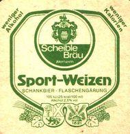 BIERDECKEL / BEER MAT / SOUS-BOCK: Sport-Weizen - Sous-bocks
