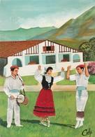 Fantaisie : Brodées : Folklore Basque - Ricamate