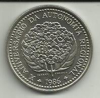 100 Escudos 1986 X Anv. Autonomia Açores/Portugal - Portugal