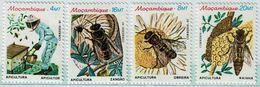 Mozambique , Moçambique , 1985 , Beekeeping , Apiculture , Bee ,  Abeille , Honey , Miel , Uncirculated , ** - Bienen