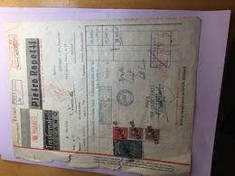 DITTA PIETRO RAPETTI-TRASFORMATORI-24-1-1952-MILANO-VIA LORENZO DI CREDI - Italia