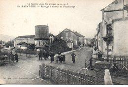 Vosges : Saint Dié : Passage à Niveau De Foucharupt - Saint Die