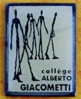 CC  08 )...COLLEGE   ALBERTO  GIACOMETTI - Autres