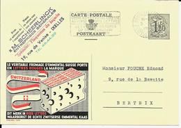 PUBLIBEL  1229 - Switzerland Fromage - Enteros Postales