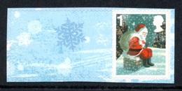 GREAT BRITAIN 2006 Christmas S/ADH: Single Stamp + Label UM/MNH - Nuovi