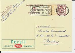 PUBLIBEL  785 - Persil Lessive - Stamped Stationery