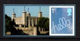 GREAT BRITAIN 2010 London 2010 Festival Of Stamps S/ADH: Single Stamp + Label UM/MNH - Ongebruikt