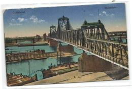 1 Ansichtkarte Duisburg Ruhrort - Rheinbrucke - Duisburg