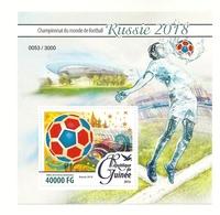 GUINEE 1805  COUPE DU MONDE  FOOTBALL BLOC - Coupe Du Monde