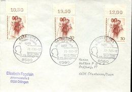 33435 Germany Special Postmark Bayreuth 1988 Richard Wagner Festspiele - Muziek