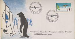 Brazil 1987 Antarctica 1v FDC  (38627) - Brazilië