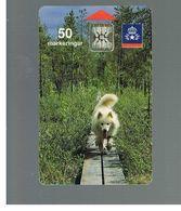 SVEZIA (SWEDEN) - TELIA  (CHIP) -  1991         DOG      - USED - RIF. 10016 - Sweden
