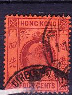 Hongkong - König Edward VII. (MiNr: 63) 1903 - Gest Used Obl - Hong Kong (...-1997)
