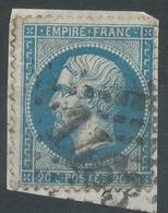Lot N°42135  N°22/fragment, Oblit GC 1463 Falaise, Calvados (13) - 1862 Napoleon III