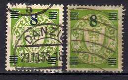 Danzig 1934 Mi 241; B241, Gestempelt [010518XXII] - Dantzig