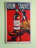 Bloc Note Carnet Rhum CHAUVET - Alcools