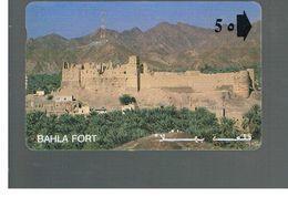OMAN - MPTT - BAHLA FORT  - USED  -  RIF.  10337 - Oman