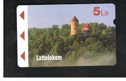 LETTONIA (LATVIA) -        1995  LANDSCAPE, CASTLE                         -  USED - RIF. 10579 - Latvia