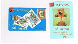 ALBANIA - 1997 85 YEARS PTT, STAMPS 50    - USED -  RIF. 10797 - Albania