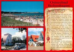73216650 Boltenhagen_Ostseebad Strand Parkbahn Chronik Boltenhagen_Ostseebad - Alemania
