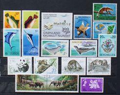 Tiere Animals Animaux China Somalia Uganda / ** MNH - Timbres