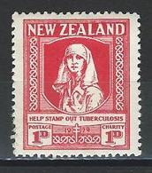New Zealand SG 544, Mi 177 * MH - Unused Stamps