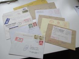 Kanada Um 1970 CFPO 105 14 Belege General Delivery. Verschiedene Stempel. OHMS Usw. Tolle Belege! - Briefe U. Dokumente