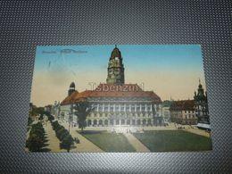Dresden - Neues Rathaus Germany - Dresden
