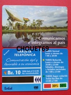 BOLIVIE First Card 10Bs Radar 1996 Exp 31.12.98 MINT URMET Bolivia Neuve - Bolivia