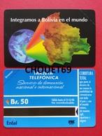 BOLIVIE First Card 50Bs Bolivia In The World 1996 Exp 31.12.98 MINT URMET Bolivia Neuve - Bolivia