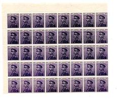 BIG - SERBIA 1911 ,  Unificato N. 94  : Blocco Di 40 Pezzi Nuovi ** - Serbia