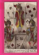 CPA (Réf : PA078)  (JEUX JOUETS) JEU CARTES A JOUER - Jeux Et Jouets