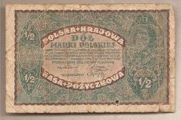 Polonia - Banconota Circolata Da 1/2 Marka P-30 - 1920 - Polonia