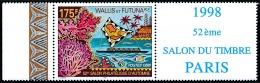 WALLIS ET FUTUNA 1998 - Yv. 527 ** SUP Bdf Vignette  Cote= 4,60 EUR - Salon Philatélique D'Automne  ..Réf.W&F21945 - Wallis-Et-Futuna
