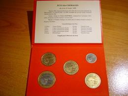 PIECES 1/2, 1, 2, 5 ET 10 ECU TEMPORAIRE VILLE DE VAISON LA ROMAINE + ECRIN - Euros Of The Cities