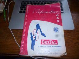 CB3 L'informateur Bulletin Professionnel De La Chaussure Cordonnier N°14/1958 - Publicité